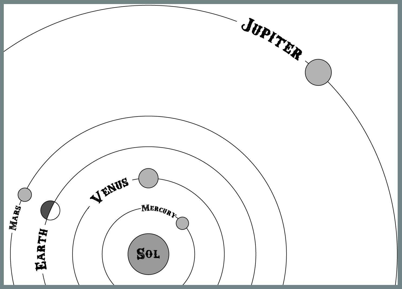 planet jupiter drawing - photo #9